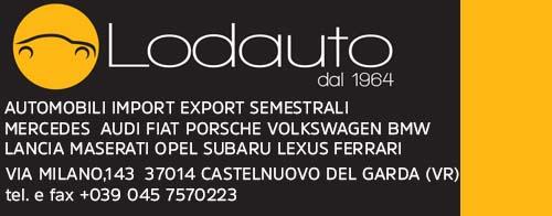 LODAUTO VERONA automobili import export semestrali Logo